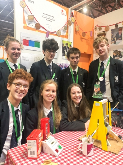 Students' invention wins runner up award